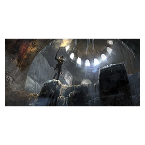 Tomb Rider. Размер: 80 х 40 см